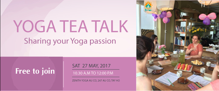 Yoga Tea Talk in May